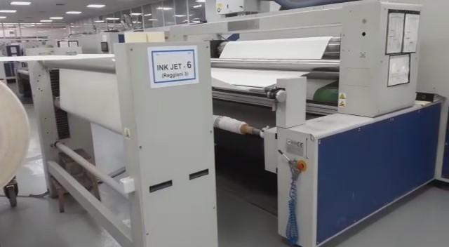 Stampa macchina Digitale Reggiani